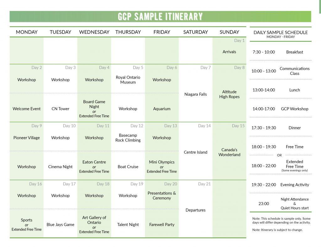 2020 SP Sample Itineraries3
